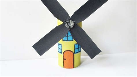 paper windmill craft how to make an amazing paper roll windmill diy crafts
