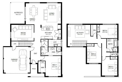 house floor plans and designs awesome modern home design featuring concrete wc and