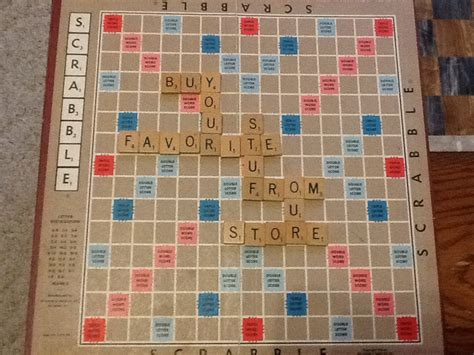 antique scrabble board vintage 1953 scrabble board selchow righter complete