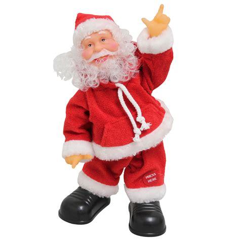 singing santa claus singing santa claus decoration
