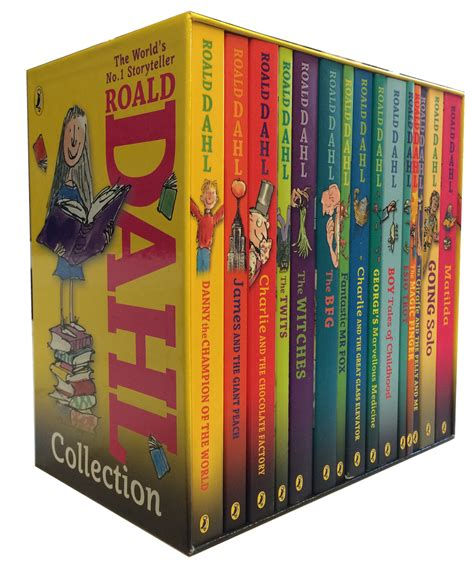 picture book collection roald dahl 15 book collection gift set pack children s