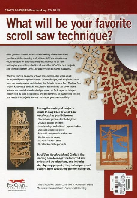 big book of scroll saw woodworking best of scrollsaw big book of scroll saw woodworking