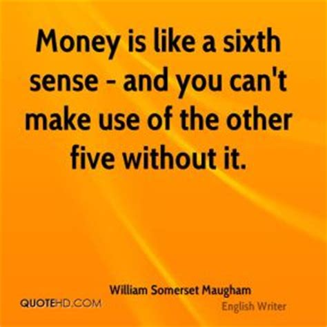 a string of maugham money is the string with which a sardoni by w somerset