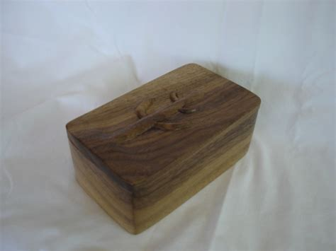 walnut woodworking projects 3x5x2 walnut carved woodworking project picture