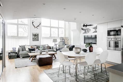 apartment style interiors scandinavian style studio apartment
