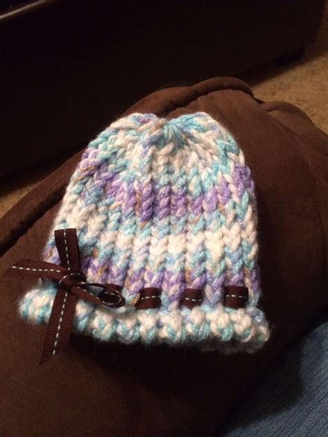 loom knit newborn hat 17 best images about knitting loom for babies on