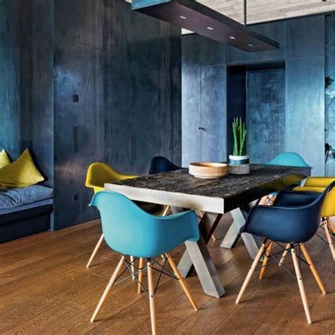 Coloured Eames Chairs by Colour Daw Chairs Set Of Six 20 Colours By