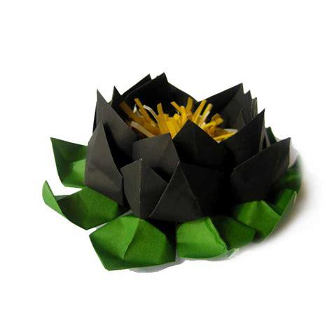origami black lotus pink origami lotus graceincrease custom origami