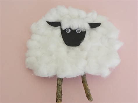 sheep crafts for march craft the kid s review