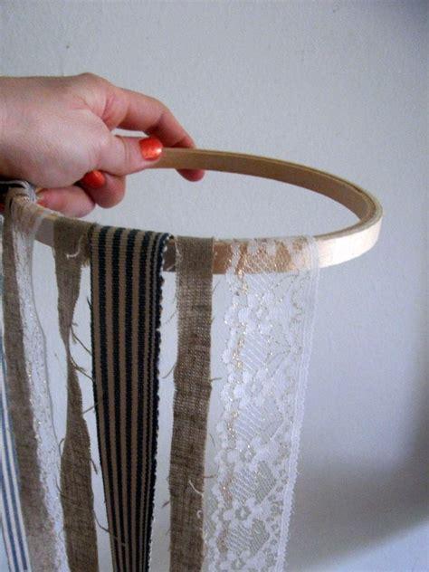 diy craft ideas diy fabric chandelier the sweetest occasion