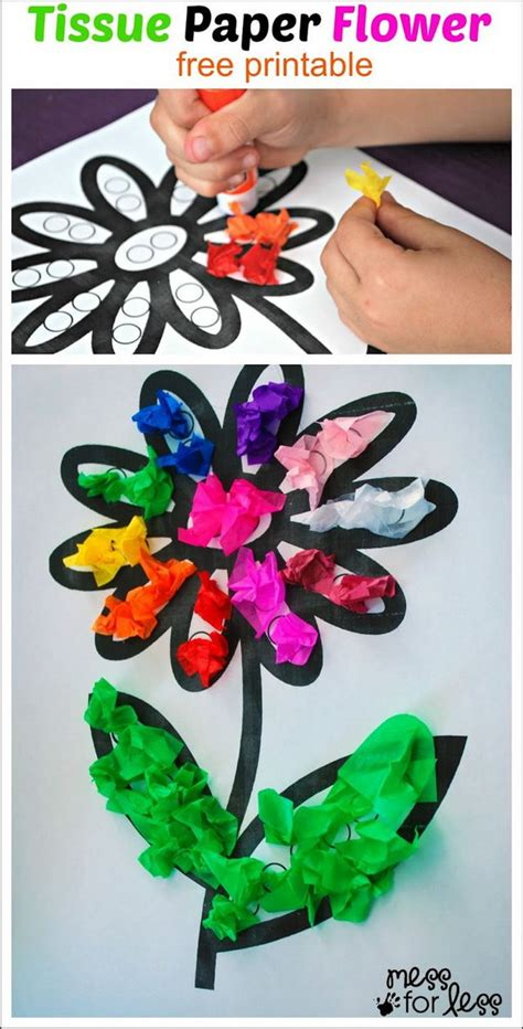crafts to make with tissue paper create these easy tissue paper crafts and with