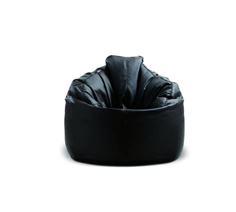 Pouf Bean Bag Chairs by Pouf The Guvnor Black Bean Bag Chair Pouf
