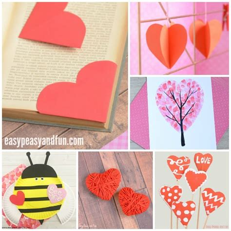 day craft valentines day crafts for easy peasy and