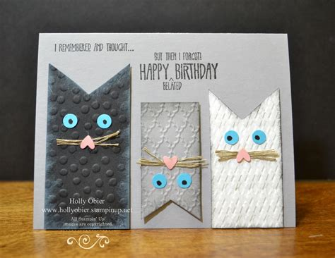 how to make a cat card for all my cat loving stin friends