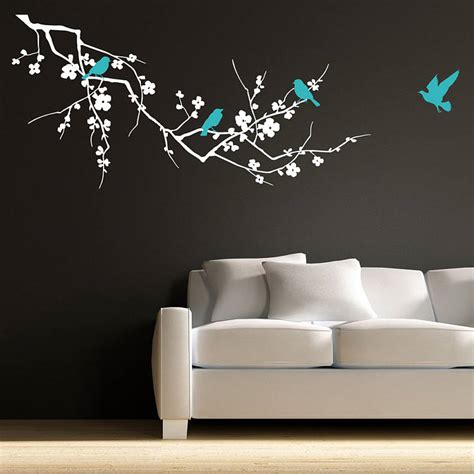 sticker designs for walls birds on branch wall stickers by parkins interiors