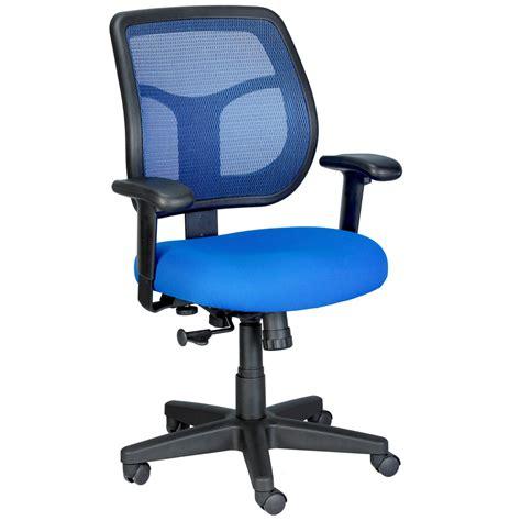 mesh swivel chair apollo mesh back swivel chair with fabric seat zuri