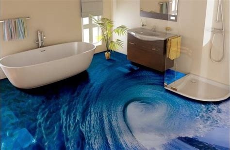 3d bathroom flooring a complete guide to 3d epoxy flooring and 3d floor designs