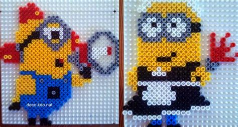 how to make perler bead minion perler bead patterns u create