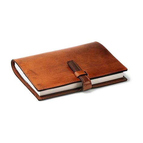 leather bound notebooks uk personalised leather bound journal by bates