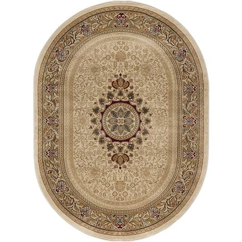 area rugs home depot 5x8 tayse rugs sensation ivory 5 ft 3 in x 7 ft 3 in