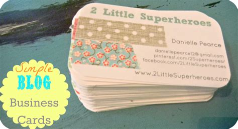 how to make cheap business cards diy business cards2 supeheroes