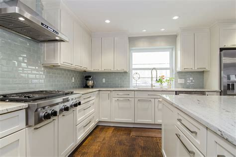 Tile For Backsplash Kitchen river white granite cabinets backsplash ideas kitchen and