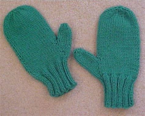 knitting pattern for gloves on two needles 2 needle mittens by frugal knitting haus craftsy