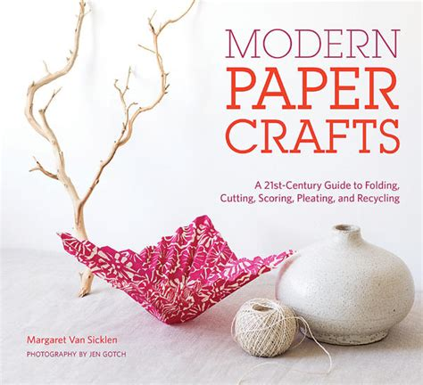 modern craft projects crafty home paper crafts home magazine