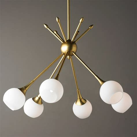 mid century modern chandeliers mid century modern mobile chandelier 6 light shades of