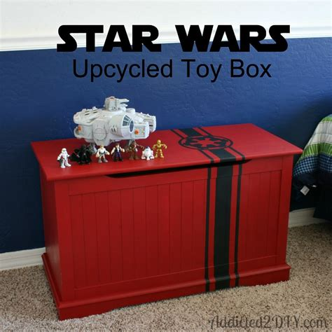 star wars upcycled toy box with free svg file addicted