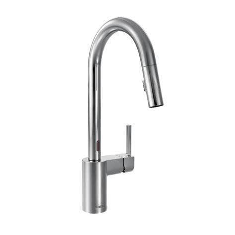 motionsense kitchen faucet 7565ec moen align series motionsense kitchen faucet chrome