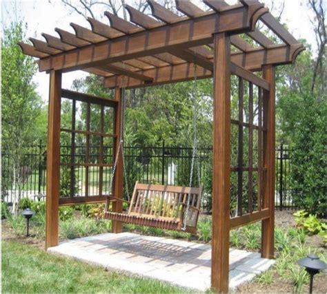 arbor swing plans free pergola arbor swing set plans swing set plans arbor