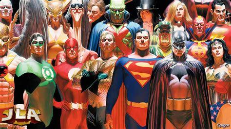 comic book pictures superheroes justice league george spigot s