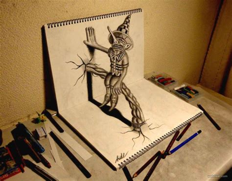 how to draw 3d 20 beautiful 3d pencil drawings and 3d works part 2