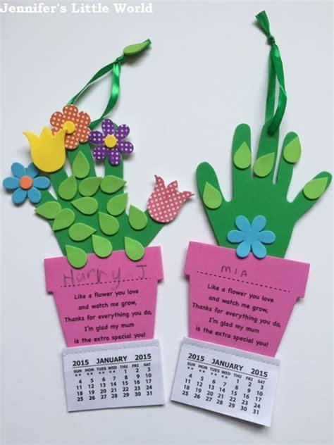 calendar craft for 2015 handprint calendars autos post