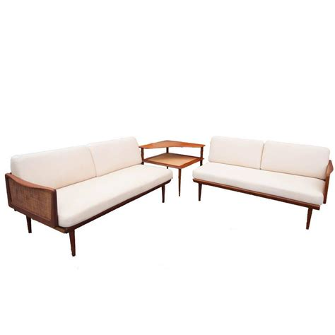 sectional sofa with corner table hvidt and orla m 248 lgaard nielsen sectional sofa with
