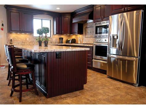 kitchen cabinets light granite cherry cabinets light granite kitchen ideas