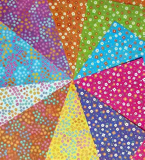 two sided origami paper sided origami paper plain floral patterns i 20