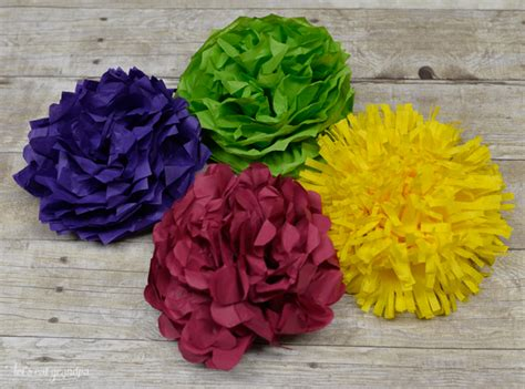 crafting paper flowers how to make tissue paper flowers four ways hey let s