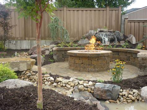 paver patio with pit paver patio pit pit design ideas