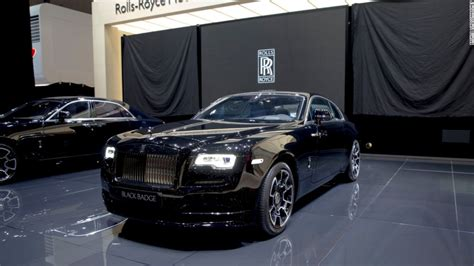 Rolls Royce Black by This New Rolls Royce Has A Snarl