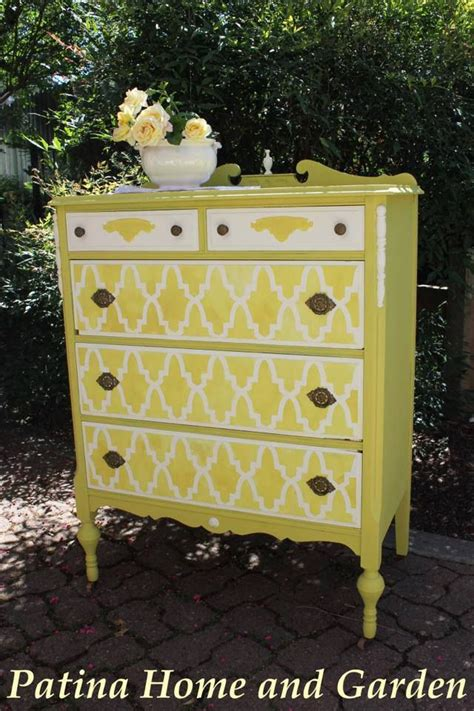 chalk paint yellow tree 1641 best painted furniture images on