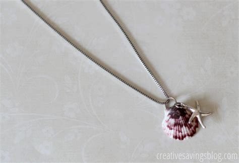 how to make jewelry from shells diy seashell necklace make your own seashell jewelry