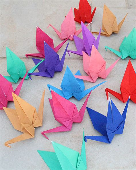 origami ideas for birthdays origami cranes for birthday or your