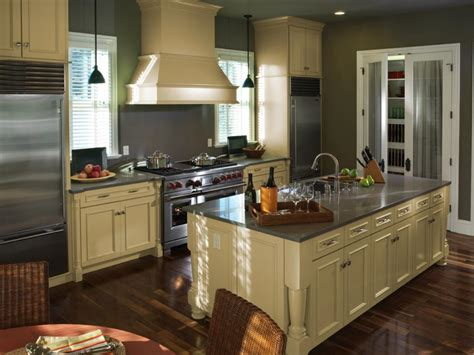 painted kitchen cabinet color ideas painted kitchen cabinet ideas hgtv