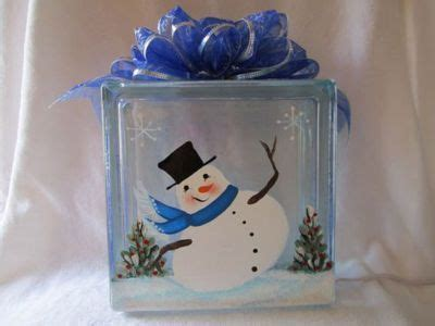 glass craft projects glass block decorations crafts