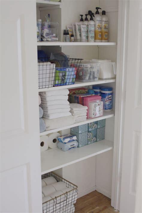 organized bathroom ideas organized bathroom closet simply organized
