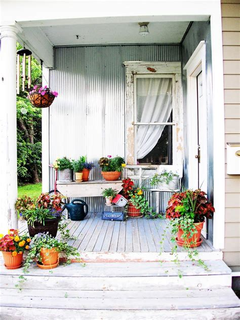 home and garden ideas for decorating shabby chic decorating ideas for porches and gardens hgtv