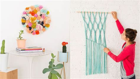 14 Diy Wall Projects For Who Can T Paint