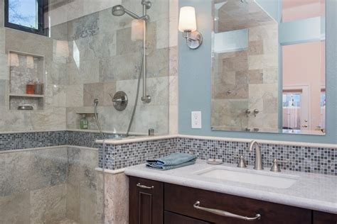 Spa Like Bathroom Pictures by Design Build Bathroom Remodel Pictures Arizona Contractor